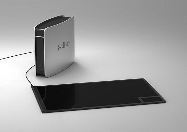 Компактная камфорка Roll-Up Mobile Cooktop