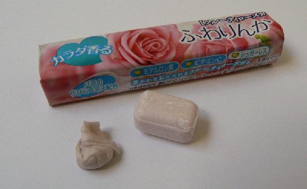 Rose Sweat Gum - жевательная резинка-'антиперспирант' от Otoko Kaoru