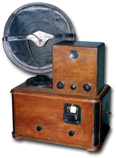 Fraccaro 30 Line Set - итальянский ретро-телевизор 30-х годов