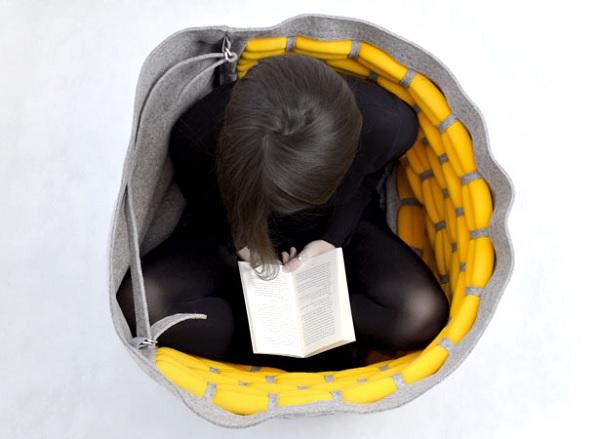 Кресло Snug в закрытом виде