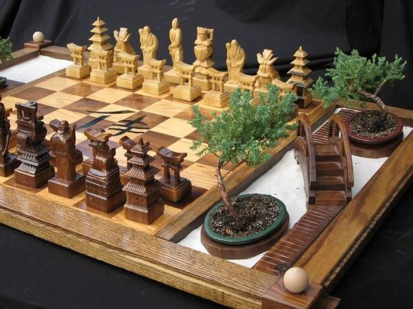 Дзен-шахматы Samurai Chess Set от JimArnoldsChessSets