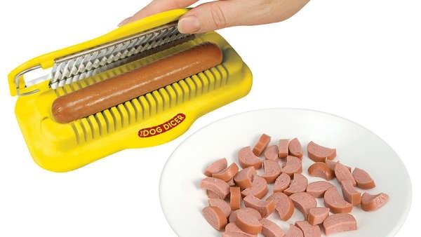 Резалка для сосисок Dog Dicer от Yellow Brick Enterprises