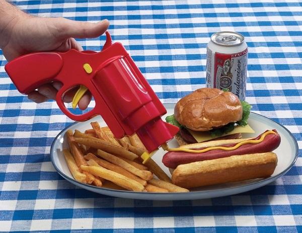 Кулинарный пистолет Condiment Gun для дозирования соусов от Man Tavern