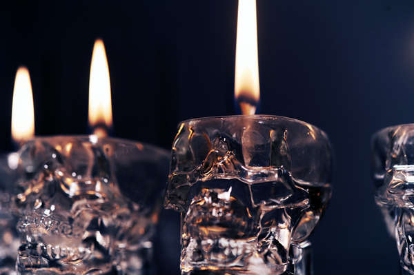 Свечи-черепа