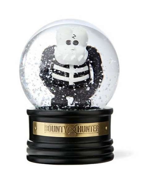 Новогодний шар со скелетом от Bounty Hunter
