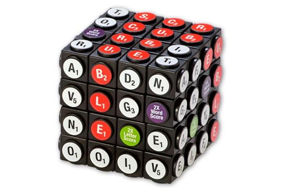 Scruble Cube - необычный кубик Рубика для игры в скрабл