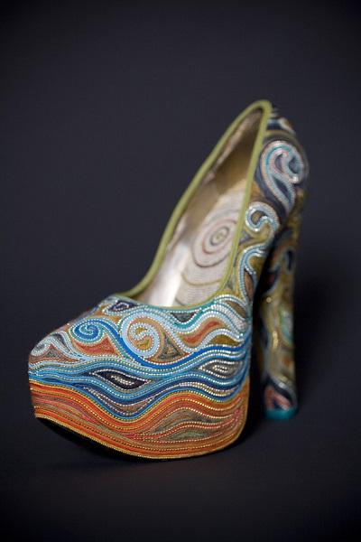 Сенсационные туфли от Марины Демпстер