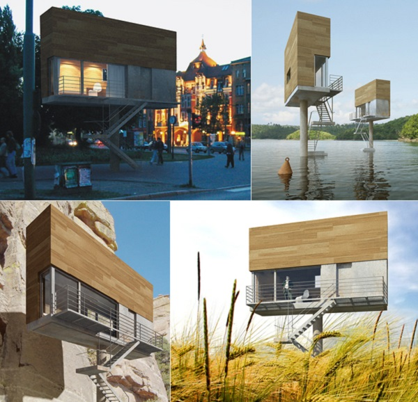 Single Hauz - узкий дом от дизайнеров из Front Architects