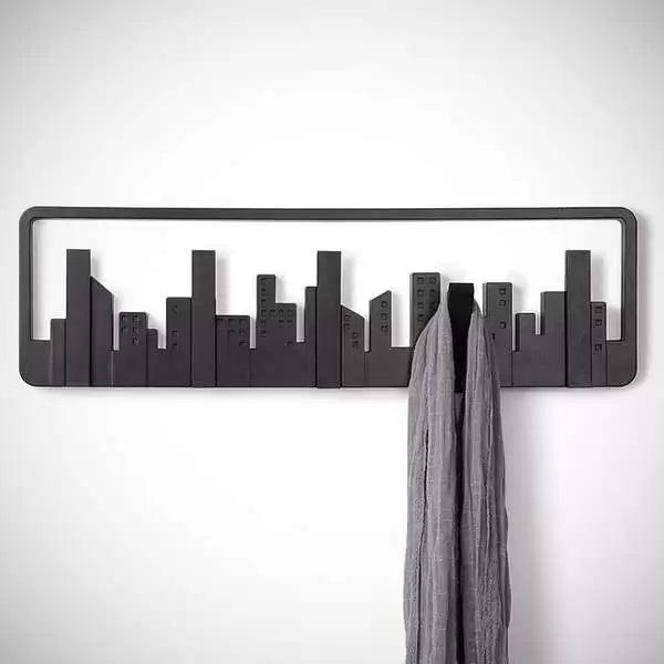 Вешалка Skyline Multi Hook - идея оригинального настенного декора в стиле большого города