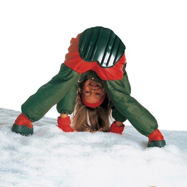 Зимние шорты-сани от Toboggan Attached