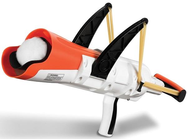Snowball slingshot – рогатка для масштабных снежных боев