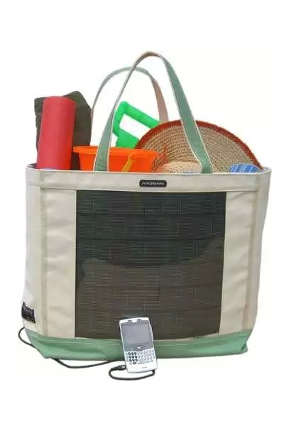 Handy Juice - эко-сумка, заряжающая гаджеты от солнечной батареи