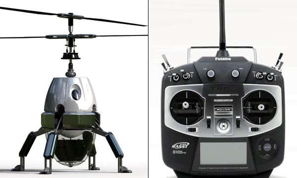 Концептуальный мельскохозяйственный робот D.F.O Helicopter от Bakji Su
