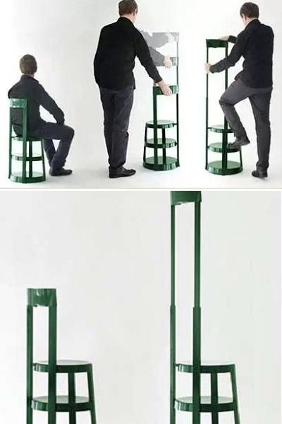 Стул-раскладная стремянка Step Ladder Chair