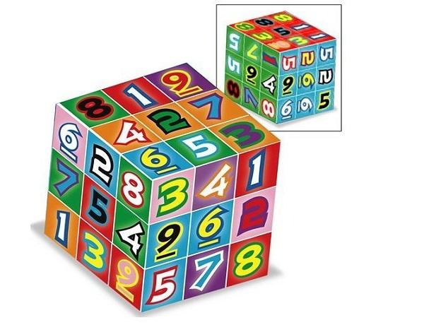 Sudoku Cube от FAO Schwartz - необычный кубик Рубика для игры в судоку