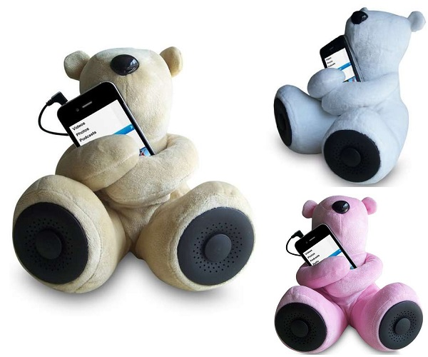 Sungale Teddy Bear Speaker - самая уютная музыкальная колонка