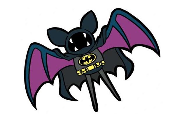 Покемон-Batman от Binsbilyas
