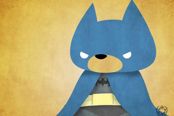 Teddy Bear-Batman от Julius Santiago