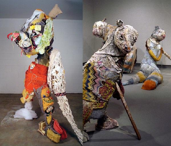 Мишки ручной работы от Elisabeth Higgins O'Connor