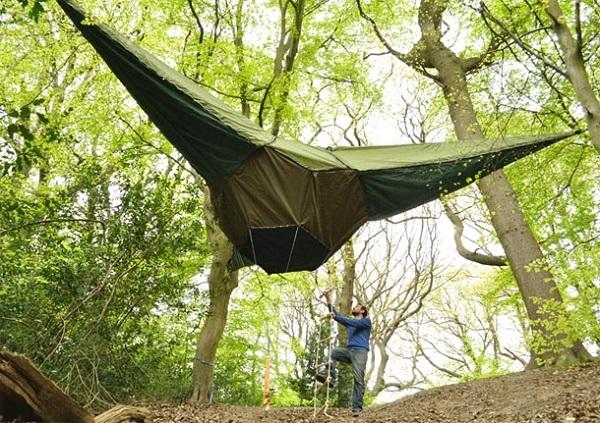 Гамак-подвесная палатка Tentsile от Alex Shirley-Smith