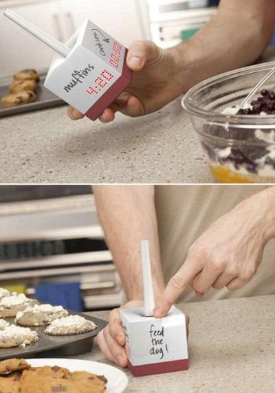 Tetra Cooking Timer - кухонный таймер для одновременного приготовления четырех блюд
