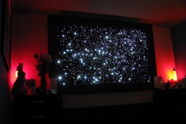 Карта ночного неба северного полушария - 851