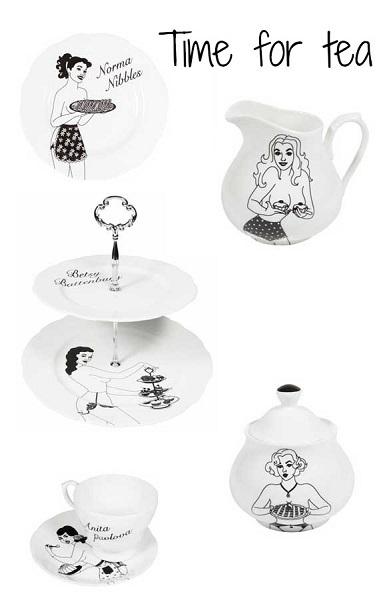"""Посуда из серии """"Пора пить чай"""