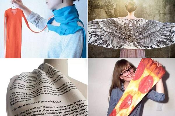 Креативные шарфы на любой сезон