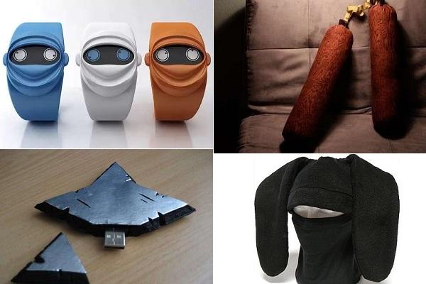 Оригинальные вещи и предметы быта в стиле ниндзя