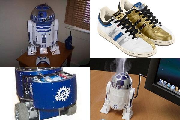 Полезные в хозяйстве забавные вещицы, оформленные в виде R2-D2
