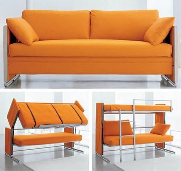 Doc sofa bunk bed - диван и двухъярусная кровать от Doc sofa bunk bed