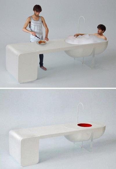 Компактная мебель Unit - спорный концепт от Philippe Malouin