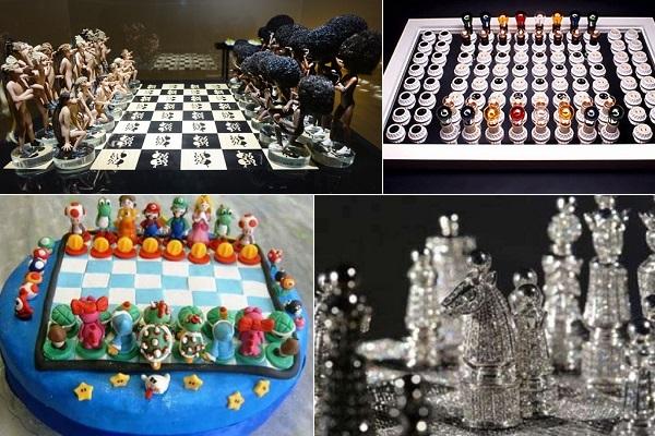 Необычные дизайнерские шахматы