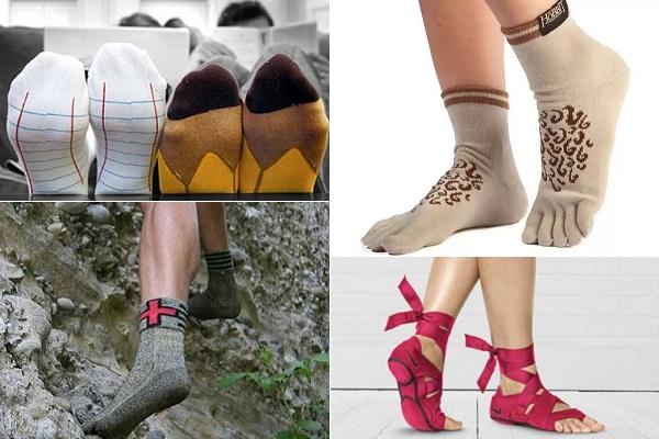 Необычные носки для согрева ног и хорошего настроения