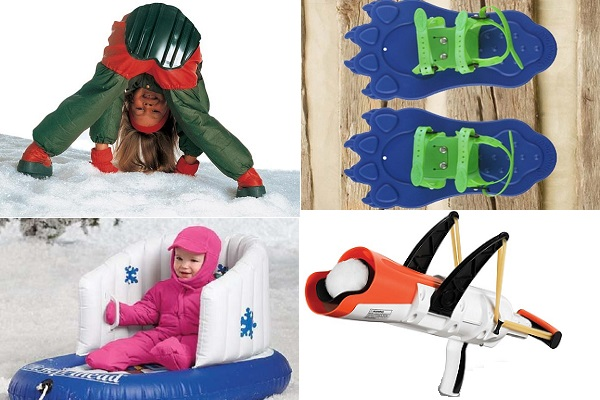 Оригинальные и практичные зимние игрушки для самых маленьких