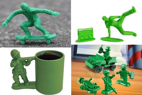 Дизайнерские версии игрушечных солдатиков