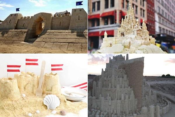 Лучшие песчаные замки со всего мира