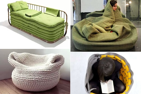 Потрясающе уютная мебель, согревающая в холодную пору