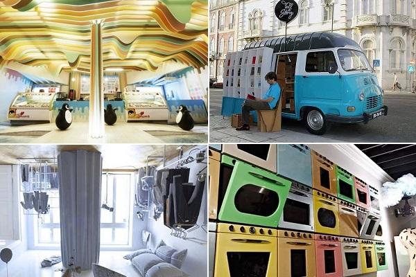 Креативно оформленные тематические магазины со всего мира