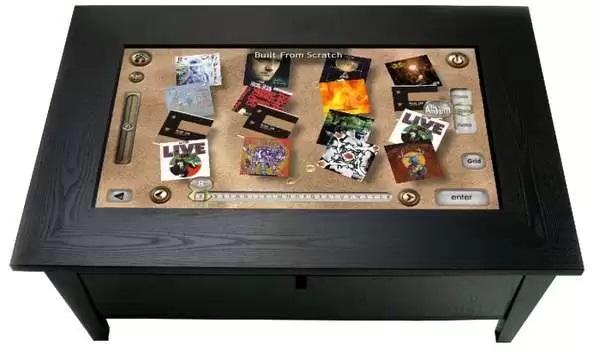 Сенсорный кофейный столик ROSIE Coffee Table Touchpanel - высокотехнологичная мебель от Savant