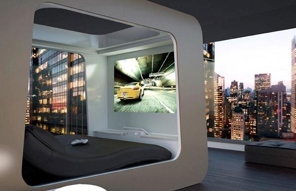 Ultimate Luxury Bed - кровать для сна и развлечений от HiCan