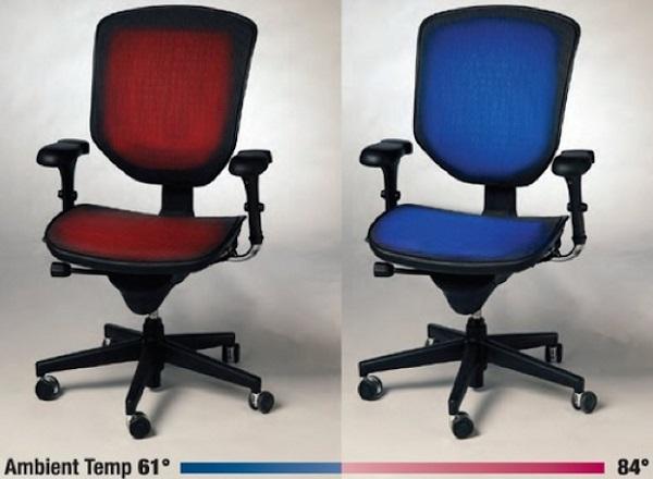 Офисные стулья с климат-контролем Tempronics Chairs