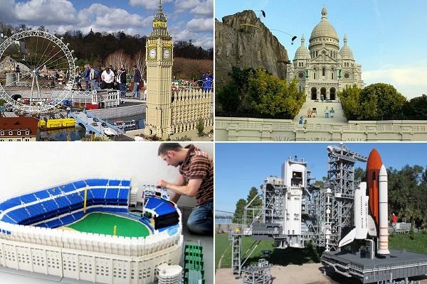 Архитектурные конструкции из Лего