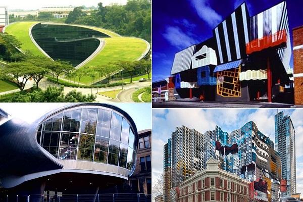 Примеры самых креативных и современных университетских зданий со всего мира