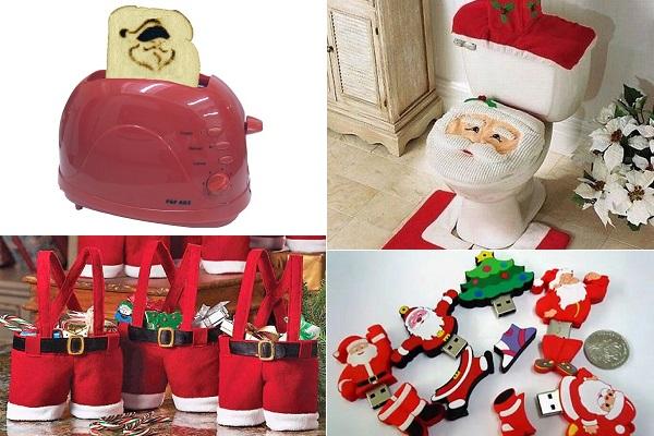 Креативные вещи в стиле Деда Мороза и Санта-Клауса