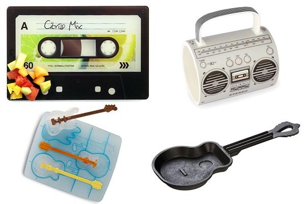 Кухонные принадлежности в форме музыкальных инструментов