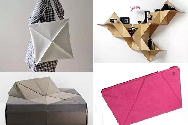 Предметы быта в стиле оригами