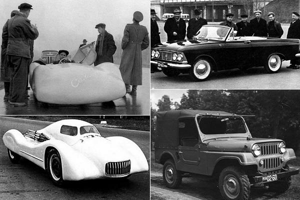 Редкие автомобили марки 'Москвич'