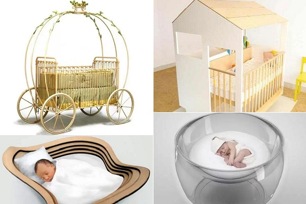 Оригинальные кроватки для самых маленьких