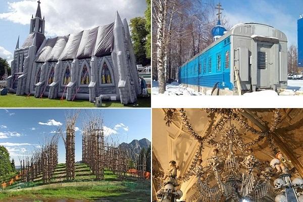 Необычные церкви со всего мира